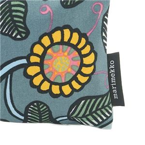 marimekko(マリメッコ) ポーチ 45247 950 GREY/LIGHT BLUE/YELLOW f04