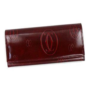 Cartier(カルティエ) フラップ長財布 L3001281 BURDEOS
