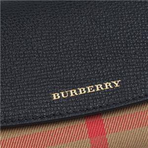 Burberry(バーバリー) フラップ長財布 3955506 100 BLACK