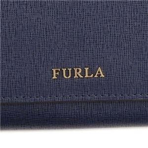 Furla(フルラ) フラップ長財布 PS12 DRS NAVY b