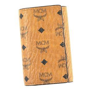MCM(エムシーエム) キーケース MXK6AVI34 CO001 COGNAC