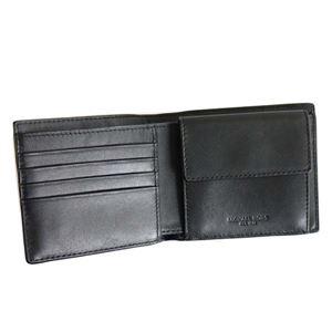 Michael Kors(マイケルコース) 二つ折り財布(小銭入れ付) 39F7MMNF3U 1 BLACK