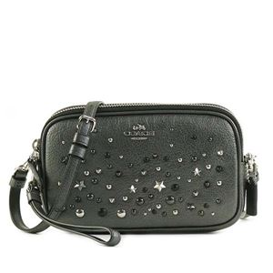 Coach(コーチ) ナナメガケバッグ 59452 SVM4Z METALLIC GRAPHITE