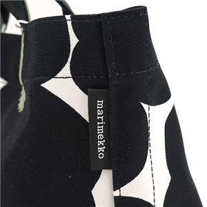 marimekko(マリメッコ) トートバッグ 40965 30 WHITE/BLACK