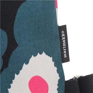 marimekko(マリメッコ) バックパック 45239 963 BLACK/GREEN/PINK