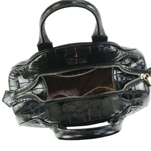 Vivienne Westwood(ヴィヴィアンウエストウッド) ハンドバッグ 42020018-40050 BLACK