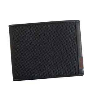 TUMI(トゥミ) 二つ折り財布(小銭入れ付) 119237 BLACK