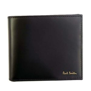 Paul smith(ポールスミス) 二つ折り財布(小銭入れ付) ATXC4833 79 BLACK