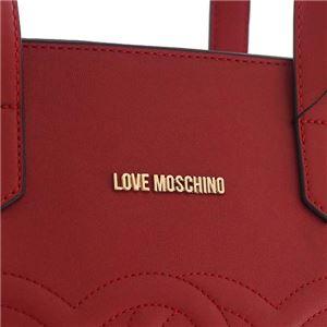 LOVE MOSCHINO(ラブモスキーノ) トートバッグ JC4292 500 ROSSO