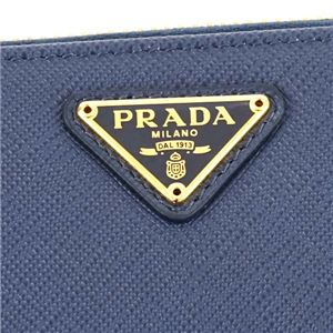 Prada(プラダ) ラウンド長財布  1ML506 F0016 BLUETTE