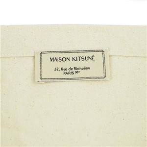 MAISON KITSUNE(メゾンキツネ) トートバッグ  FW17U814-EC  ECRU