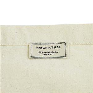 MAISON KITSUNE(メゾンキツネ) トートバッグ  FW17U815-EC  ECRU