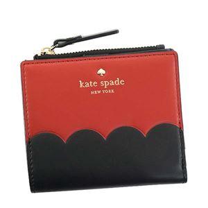 KATE SPADE(ケイトスペード) 二つ折り財布(小銭入れ付)  PWRU5900 631 RED CARPET - 拡大画像