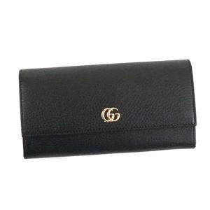 Gucci(グッチ) フラップ長財布  456116 1000