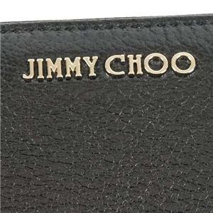 Jimmy Choo(ジミーチュウ) ラウンド長財布  PIPPA  BLACK