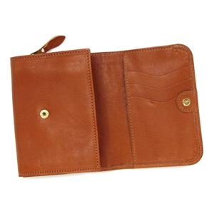 IL Bisonte(イルビゾンテ)二つ折り財布(小銭入れ付)  C0883 145 CARAMEL