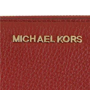 MICHAEL KORS(マイケルコース) F L字ファスナー長財布  35S7GBFZ3T  CHERRY