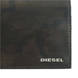 DIESEL(ディーゼル) フラップ長財布  X04976 H5760 OLIVE NIGHT/MILITARY CAMOU