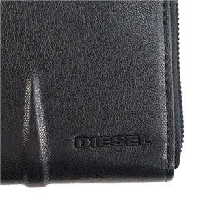 DIESEL(ディーゼル) ラウンド長財布  X04999 T8013 BLACK