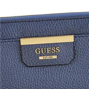 Guess(ゲス) ラウンド長財布  VG642246 BLU BLUE