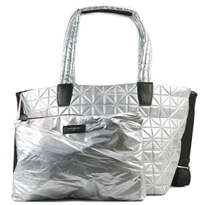BEECOLLECTIVE(ビーコレクティブ )トートバッグ  101-202-301  METALLIC SILVER - 拡大画像