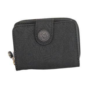Kipling(キプリング) 二つ折り財布(小銭入れ付)  K13886 H61 BLACK LEAF