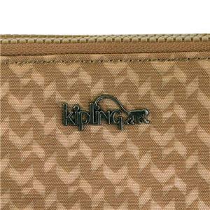 Kipling(キプリング) ラウンド長財布  K14298 44O CAMEL EMB