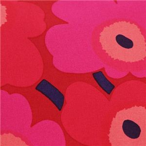 marimekko(マリメッコ) ポーチ  37773 301 RED/DARK RED