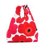 marimekko(マリメッコ) トートバッグ  40470 1 WHITE/REDの画像
