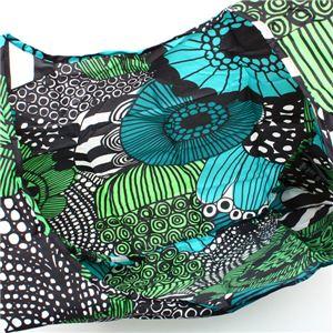marimekko(マリメッコ) トートバッグ  41404 160 WHITE/GREEN/BLACK