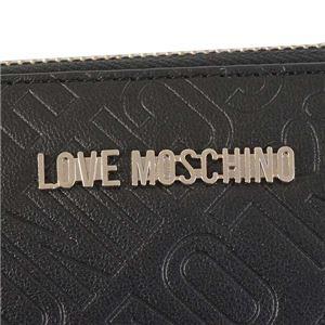 LOVE MOSCHINO(ラブモスキーノ) ラウンド長財布  JC5546 0 NERO