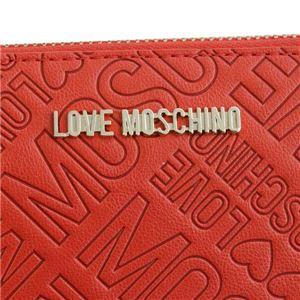 LOVE MOSCHINO(ラブモスキーノ) ラウンド長財布  JC5546 500 ROSSO