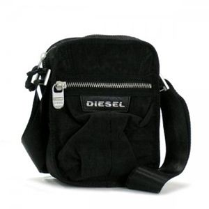 DIESEL(ディーゼル) ナナメガケバッグ BEAT THE TIME 00XS36 T8013 ブラック H24×W16×D9