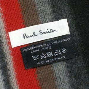 Paul smith(ポールスミス) マフラー CHRISTMAS 181G E ブラック/グレー