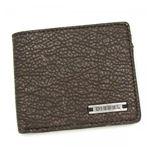 DIESEL(ディーゼル) 二つ折り財布(小銭入れ付) CORE CONCEPT XS21 T8008 ダークグレー H9.5×W11×D1.5