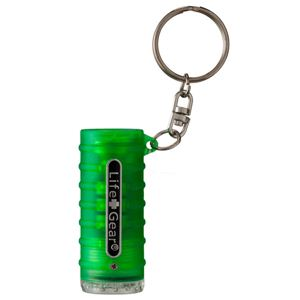 Life+Gear(ライフ+ギア) 【防災・アウトドア】LED Glow Key Chain(LEDグロウ キーチェーン) グリーン - 拡大画像
