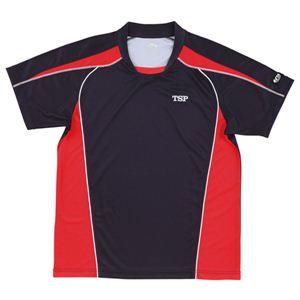 ヤマト卓球デファンスシャツ30265ブラックXO(卓球用品/卓球シャツ/ユニフォーム/ゲームシャツ/TSP)