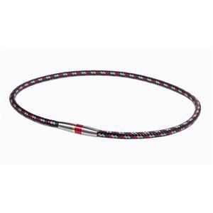 Phiten(ファイテン) RAKUWA ネック X50 ハイエンド III レッド 50cm TG475153 - 拡大画像