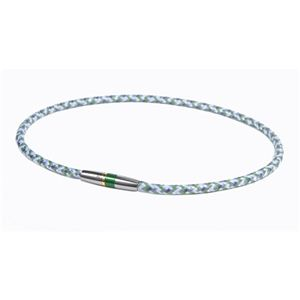 Phiten(ファイテン) RAKUWA ネック X50 ハイエンド III グリーン 50cm TG475353 - 拡大画像