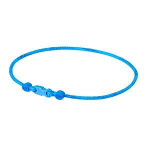 Phiten(ファイテン) RAKUWA ネック X50 スリムタイプ ブルー 40CM TG496352 - 拡大画像