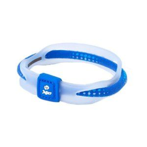 Phiten(ファイテン) RAKUWA ブレス X50 ブルー 17CM TG497225 - 拡大画像
