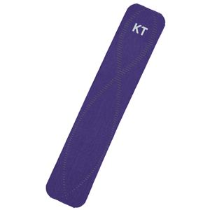 KT TAPE PRO(KTテーププロ) パウチタイプ 5枚入り パープル (キネシオロジーテープ テーピング) - 拡大画像