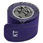 テーピング/キネシオロジーテープ 【パープル】 幅50mm ロールタイプ 15枚入り 『KT TAPE PRO KTテーププロ』 〔スポーツ〕