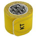 テーピング/キネシオロジーテープ 【イエロー】 幅50mm ロールタイプ 15枚入り 『KT TAPE PRO KTテーププロ』 〔スポーツ〕