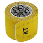 KT TAPE PRO(KTテーププロ) ロールタイプ 15枚入り イエロー (キネシオロジーテープ テーピング)の画像