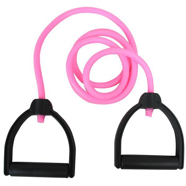 Finoa(フィノア) フィットネスケーブル・プラス(ピンク)チューブ強度3(中程度) 22153