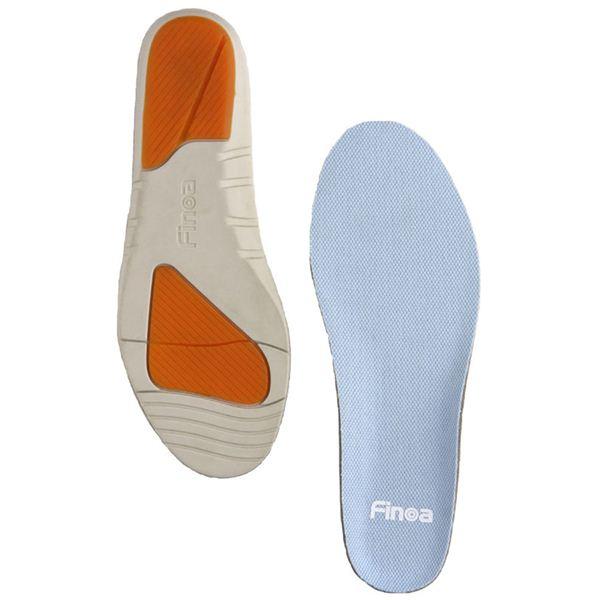 Finoa(フィノア) ランニング 男性用インソールL (27 ~ 28.5 cm ) 32043 (靴の中敷き)f00