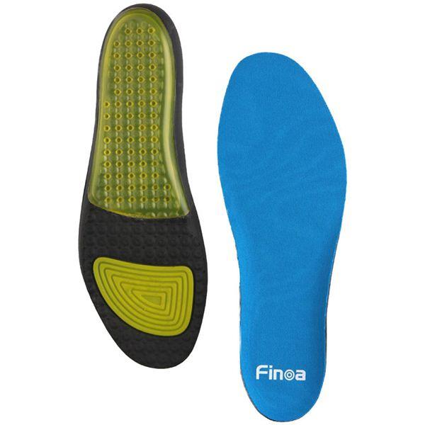 Finoa(フィノア) インパクト 男性用インソールM (25 〜 26.5 cm ) 32072 (靴の中敷き)
