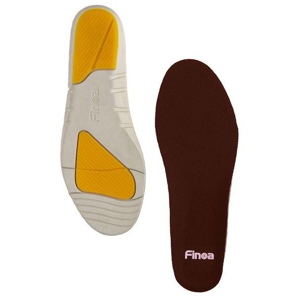 Finoa(フィノア) ウォーキング 男性用インソールM (25 ~ 26.5 cm ) 32122 (靴の中敷き)f00