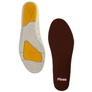 Finoa(フィノア) ウォーキング 男性用インソールL (27 〜 28.5 cm ) 32123 (靴の中敷き)